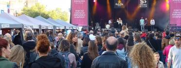 La Fira d'Entitats de Voluntariat coincideix amb el festival Strenes.