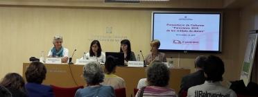 Imatge de la presentació del Panoràmic de les entitats de dones