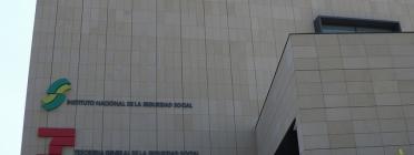 Edifici de l'INSS. Font: Flickr de Ricardo Ricote Rodríguez