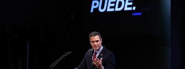 Pedro Sánchez a la conferencia sobre el pla 'España puede' Font:  La Moncloa (CC BY-NC-ND 2.0)