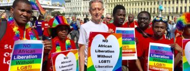 Els drets de les persones LGBTI a l'Àfrica es troben amenaçats. Font: Twitter Peter Tatchell