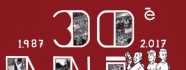 Imatge commemorativa del 30è aniversari de la FAVCO