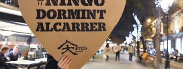 Campanya #Ningúdormintalcarrer. Font: Arrels Fundació