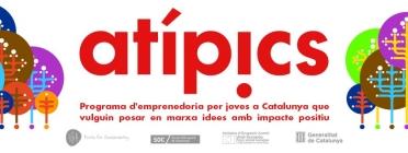 Programa d'emprenedoria Atípics. Font: Pàgina de Facebook d'Atípics