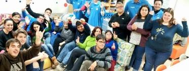 Apadis acompanya a nois i noies amb discapacitat, oferint-los activitats lúdiques i de formació. Font: Apadis Facebook