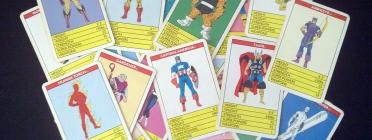 El generador de cartes crea unes cartes a l'estil Top Trumps Font: Stephen Carter