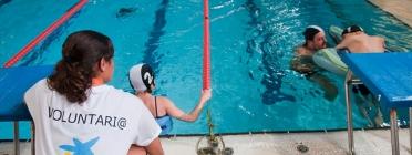 Voluntària en els Jocs Special Olympics 2012