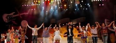 Actuació musical a la quarta edició del 'Fent Amics amb Down Catalunya'.
