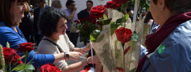 Sant Jordi Solidari amb El Mercat Social