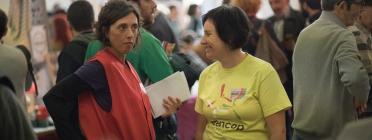 Coordinadores de la Fira Social d'Economia Solidària.