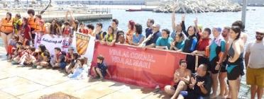 Les entitats es mobilitzen en defensa del corall vermell
