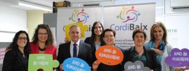 Des de fa 30 anys, Cordibaix potencia la integració de les persones amb discapacitat i /o trastorn mental a través del treball.