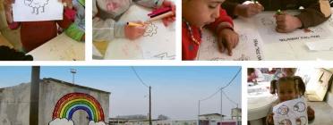 Els donatius del projectes es dstinen a projectes concrets a camps de persones refugiades.
