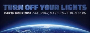 El 24 de març de 2018 se celebra L'hora del planeta