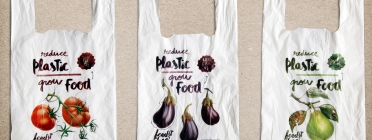 Bosses de plàstic biodegradables.
