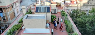 Del 14 al 20 d'octubre se celebra a Barcelona una nova edició de l''Aplec d'agricultura urbana' Font: Huertos in the sky