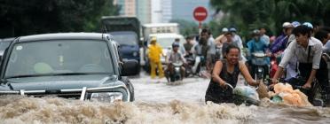 Inundacions al Sudest asiàtic.