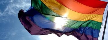 Bandera del col·lectiu LGTBI. Font: Wikipedia