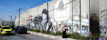 Mur entre Palestina i Israel.