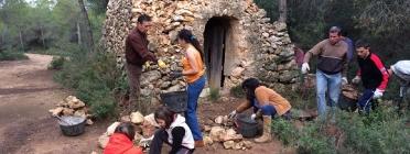 Voluntariat pel paisatge de la pedra seca