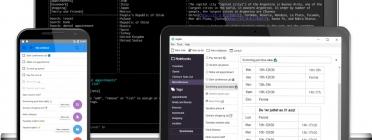Captura de pantalla de l'aplicació Joplin que serveix per crear i guardar notes.