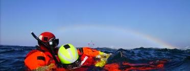Tasques de salvament marítim.
