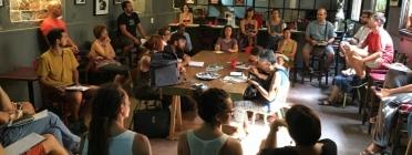 Una reunió preparatòria del Raval(s)