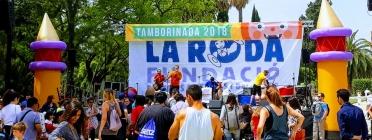 La Tamborinada tornarà a omplir el Parc de la Ciutadella de solidaritat. Font: Fundació La Roda