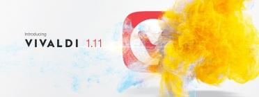 Imatge promocional de la publicació del nou navegador Vivaldi.