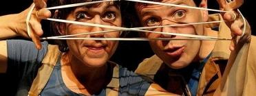 Ainoha Roca i Albert Requena de Xucrut Teatre