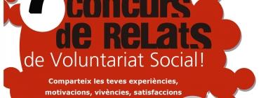 Participa al 7è Concurs de  Relats de Voluntariat Social a Barcelona