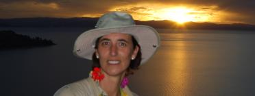 La Beatriz Puig a posta de sol