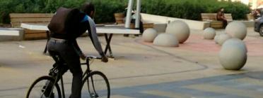 Bicicleta a Barcelona (Imatge:XVAC)