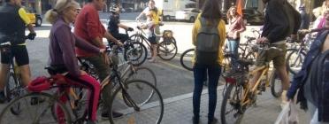 Voltant per Barcelona en bicicleta