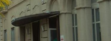 Entrada de l'edifici del Cafè de Mar