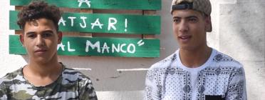 Hamza El Karaa, jove extutelat al centre residencial Cal Manco, a Caldes de Malavella. Font: Suport Tercer Sector. Font: Suport Tercer Sector