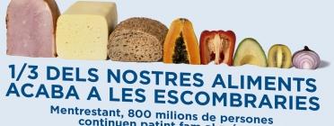 Mans Unides llança la campanya contra la fam centrada en el desaprofitament i l'especulació alimentària