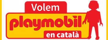 L'entitat exigeix a Playmobil que etiqueti en català. Font: Plataforma Per la Llengua
