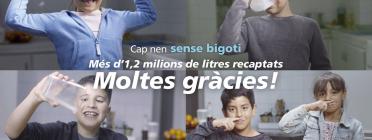 Imatge al web de la campanya