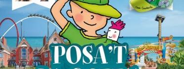 Cartell de la 14ª edició del 'Posa't la gorra' (Font: posatlagorra.org)
