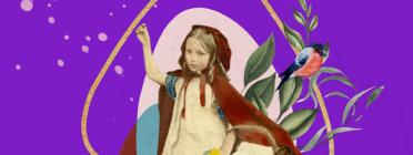 Una imatge del vídeo 'La caputxeta vermella en el camí de la sostenibilitat'. Font: Coòpolis