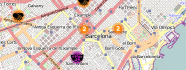 Imatge del mapa. Font: Web de Setem