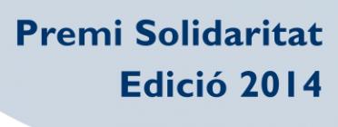 S'obre la candidatura pel Premi Solidaritat 2014