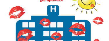 Llançancament massiu de petons pel Dia de l'Infant Hospitalitzat