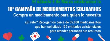 El Banc Farmacèutic impulsa la 10a Campanya de Medicaments Solidaris