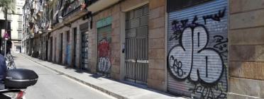 Carrer del Raval. Font: Projecte Ítaka