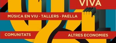 Cartell BAM – Cultura Viva 2017. Font: Ajuntament de Barcelona