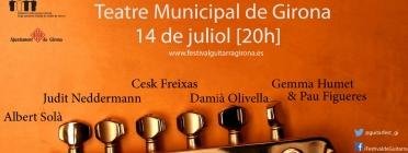 La Guitarra Solidària arriba a Girona