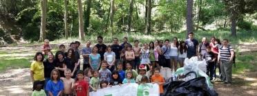 Famílies de la Tordera al Let's Clean Europe