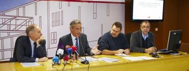 Roda de premsa de presentació de l'estudi